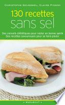 130 recettes sans sel