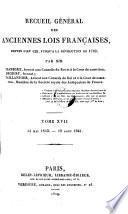 14 Mai 1643 - 19 Aout 1661