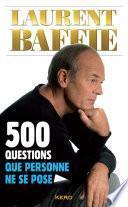 500 questions que personne ne se pose
