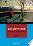 A handbook of literary terms - Introduction au vocabulaire littéraire anglais