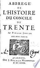 Abbrégé de l'histoire du Concile de Trente
