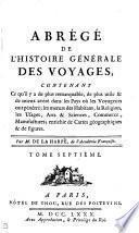 Abrégé l'histoire générale des voyages [of A.F. Prévost d'Exiles].