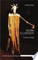 Adorno et l'Antiquité