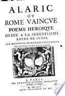 Alaric ou Rome vaincue