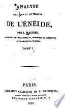 Analyse critique et littéraire de l'Énéïde