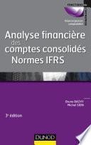 Analyse financière des comptes consolidés - 3e éd.