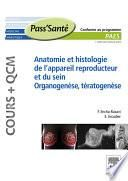 Anatomie et histologie de l'appareil reproducteur et du sein – Organogenèse, Tératogenèse (Cours + QCM)