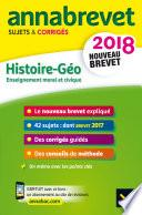 Annales Annabrevet 2018 Histoire Géographie EMC 3e