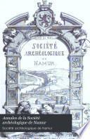 Annales de la Société archéologique de Namur