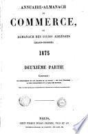 Annuaire du commerce Didot-Bottin. Paris, départements