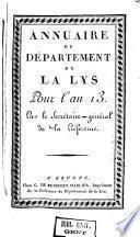 Annuaire du Département de la Lys
