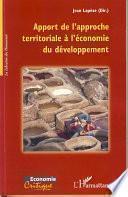 Apport de l'approche territoriale à l'économie du développem