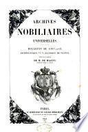 Archives nobiliaires universelles