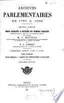 Archives parlementaires de 1787 à 1860: -6. Etats généraux. Cahiers des sénéchaussées & bailliages
