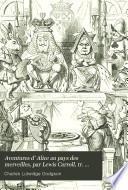 Aventures d' Alice au pays des merveilles, par Lewis Carroll, tr. par H. Bué