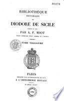 Bibliothèque historique de Diodore de Sicile