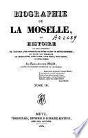 Biographie de la Moselle