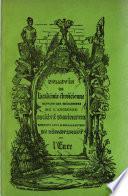 Bulletin de l'Ancienne société d'agriculture, sciences, arts et belles-lettres du Département de l'Eure