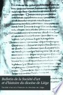 Bulletin de la Société d'art et d'histoire du diocèse de Liége