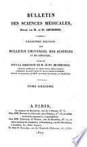 Bulletin universel des sciences et de l'industrie. 3