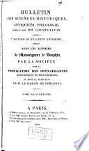 Bulletin universel des sciences et de l'industrie. 7