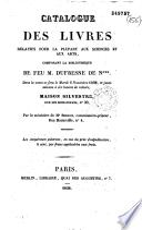 Catalogue des livres relatifs pour la plupart aux sciences et aux arts, composant la bibliothèque de feu M. Dufresne de N***