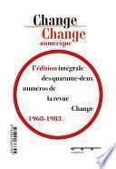 Change numérique