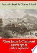 Cinq jours à Clermont (Auvergne)