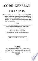Code général français