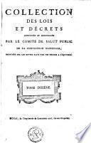Collection des lois et décrets