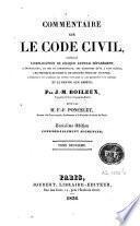 Commentaire sur le code civil