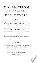 Contenant les Observations sur l'histoire de France [Suite du Livre VI, Livre VII et VIII]