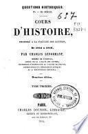 Cours d'Histoire: tom. 2