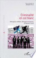 Criminalité en col blanc