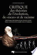 Critique des théories de l'évolution, de «races» et de racisme