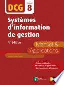 DCG 8 : Systèmes d'information de gestion 2016/2017