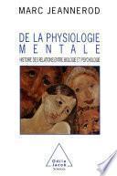 De la physiologie mentale