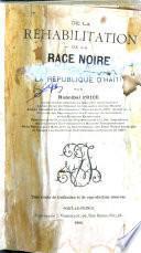 De la réhabilitation de la race noire par la République d'Haïti