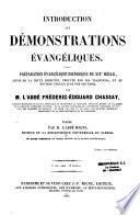 Démonstrations évangéliques...