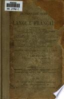 Dictionnaire complet de la langue française