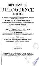 Dictionnaire d'éloquence sacrée
