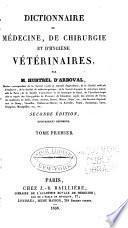 Dictionnaire de médecine, de chirurgie et d'hygiène vétérinaires