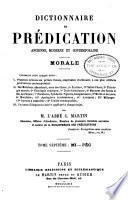Dictionnaire de prédication ancienne, moderne et contemporaine