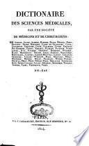 Dictionnaire des sciences médicales