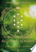 Dictionnaire du livre de la nature