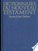 Dictionnaire du Nouveau Testament