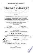 Dictionnaire encyclopédique de la théologie catholique