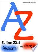 Dictionnaire français pour jeux de lettres