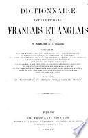 Dictionnaire international français et anglais ...
