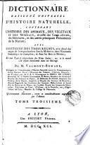 Dictionnaire raisonné universel d'histoire naturelle, 3